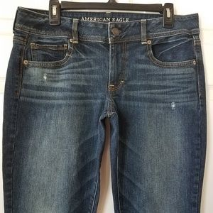 American Eagle Outfitters Kick Boot Stretch Jeans